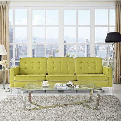 Gayatri Contemporary Sofa Upholstery: Wheatgrass