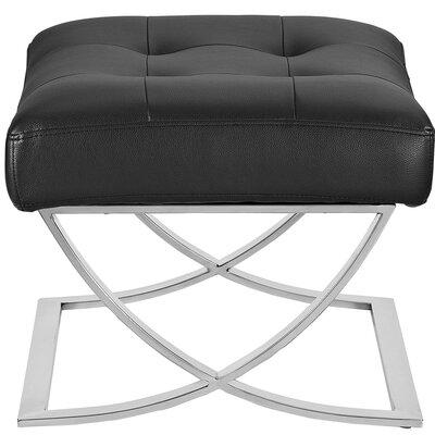 Slope Ottoman Upholstery: Black