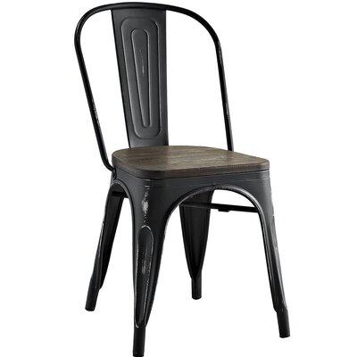 Ashlyn Side Chair Finish: Black