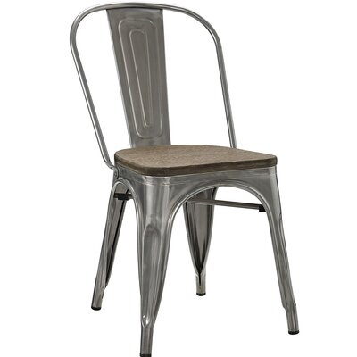 Ashlyn Side Chair Finish: Gunmetal