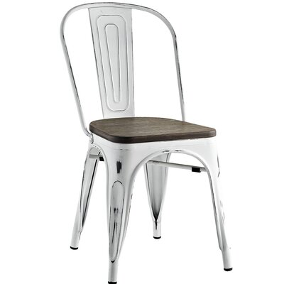 Ashlyn Side Chair Finish: White