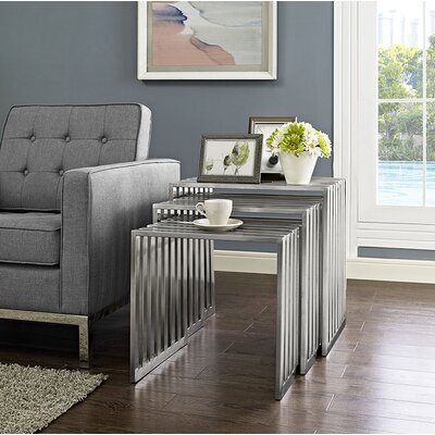 Duct 3 Piece Nesting Tables