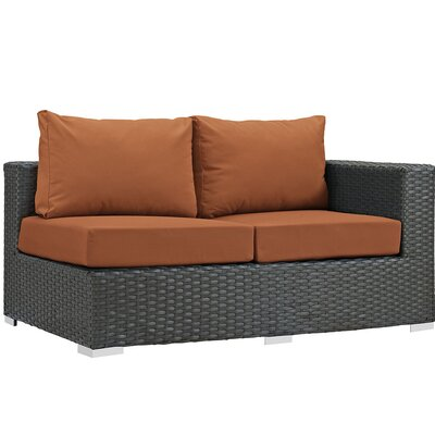 Sojourn Right Arm Loveseat Sectional Piece with Cushions Fabric: Tuscan
