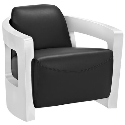 Trip Lounge Chair Color: Black