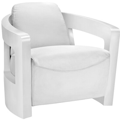 Trip Lounge Chair Upholstery: White