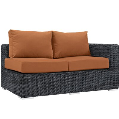 Summon Loveseat with Cushions Upholstery: Tuscan