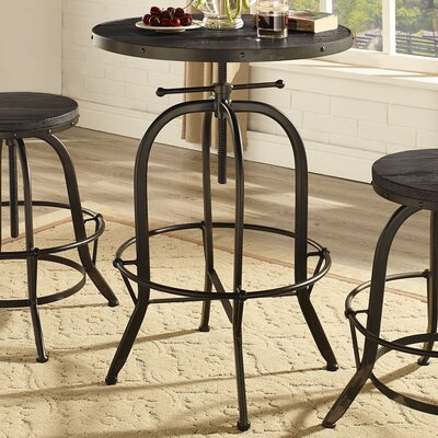 Sylvan Pub Table Color: Black