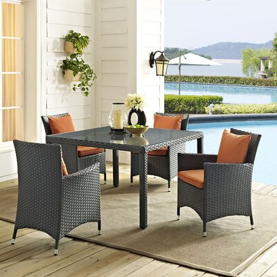 Sojourn 5 Piece Dining Set