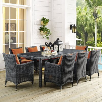 Summon 9 Piece Dining Set