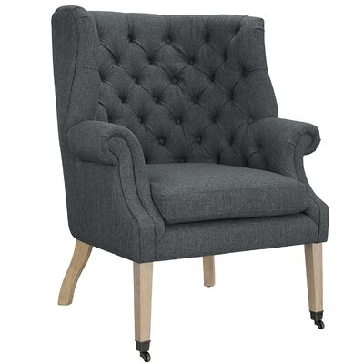 Chart Arm Chair Color: Gray