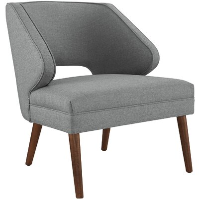 Dock Armchair Upholstery: Light Gray