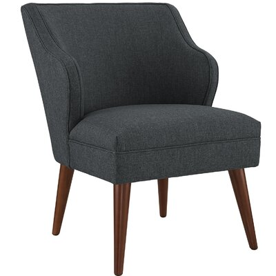 Swell Side Chair Upholstery: Gray