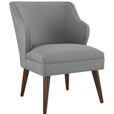 Swell Side Chair Upholstery: Light Gray