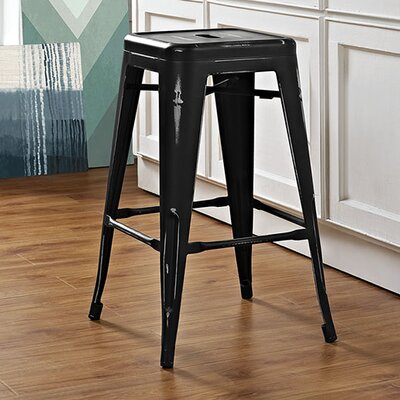 Promenade 26 Bar Stool Finish: Black