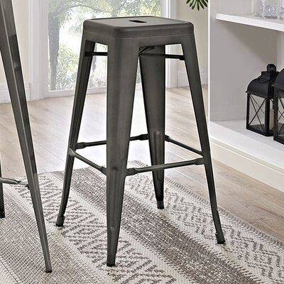 Ashlyn 30 Bar Stool Finish: Brown