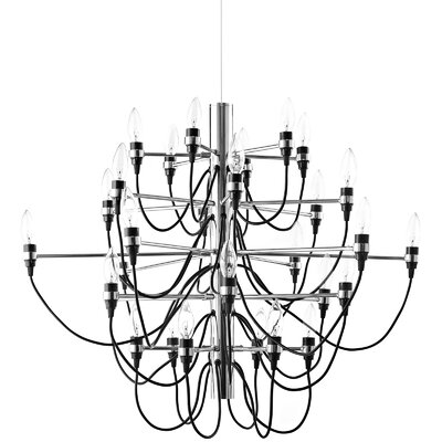 Starbright 14-Light Candle-Style Chandelier