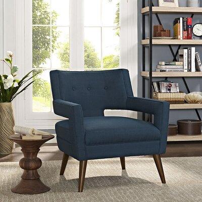 Sheer Armchair Upholstery: Azure