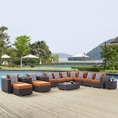 Excellent Sojourn Sunbrella Sectional Cushions - Product picture - 8117