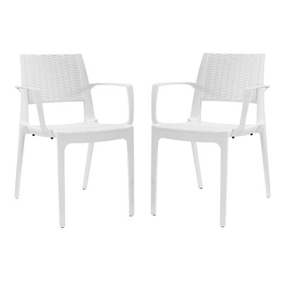 Astute Arm Chair Finish: White