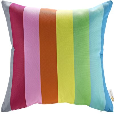 Patio Rainbow Indoor / Outdoor Throw Pillow