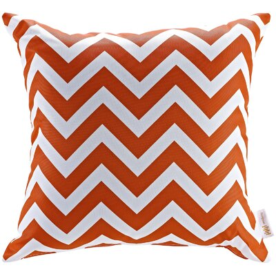 Patio Chevron Indoor / Outdoor Throw Pillow