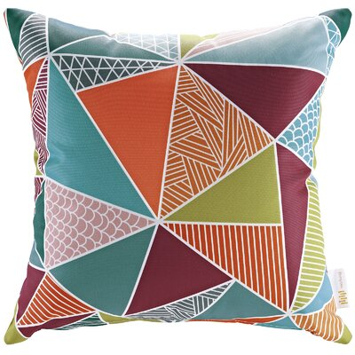 Patio Mosaic Indoor / Outdoor Throw Pillow