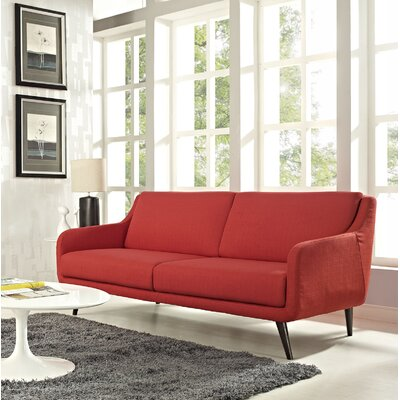 Verve Sofa Upholstery: Atomic Red