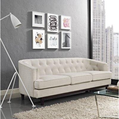 Coast Sofa Upholstery: Beige
