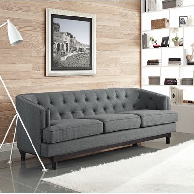 Coast Sofa Upholstery: Gray