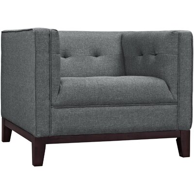 Serve Armchair Upholstery: Gray