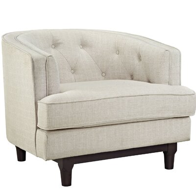 Coast Armchair Color: Beige