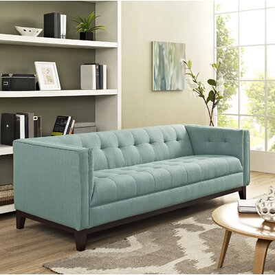 Serve Chesterfield Sofa Upholstery: Laguna