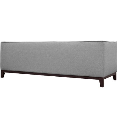 Serve Chesterfield Sofa Upholstery: Light Gray