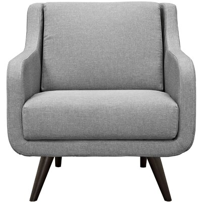 Verve Armchair Color: Light Gray