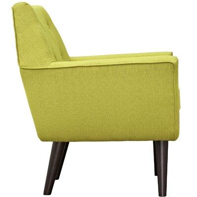 Poist Armchair Upholstery: Wheatgrass