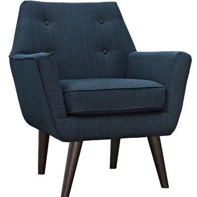 Poist Armchair Upholstery: Azure