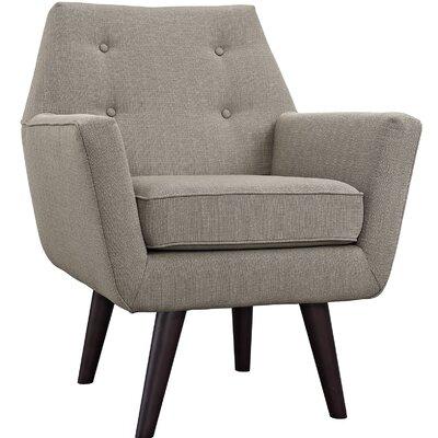 Poist Armchair Upholstery: Granite