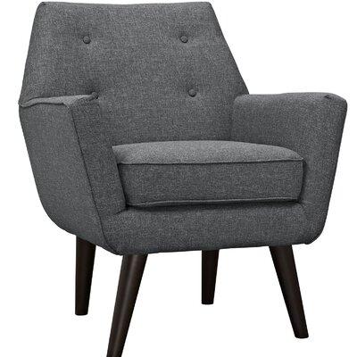 Poist Armchair Upholstery: Gray