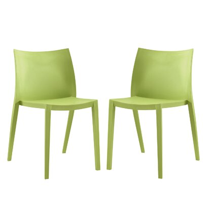 Gallant Side Chair Finish: Green