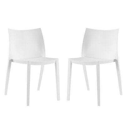 Gallant Side Chair Finish: White