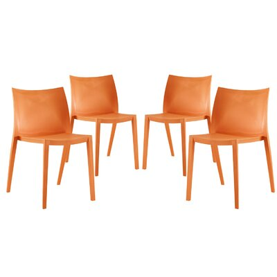 Gallant Side Chairs Color: Orange
