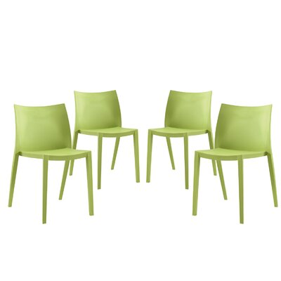 Gallant Side Chairs Finish: Green