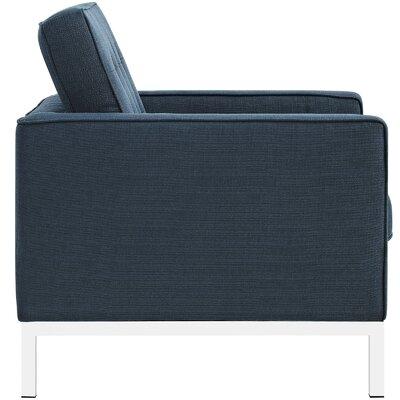 Gayatri 3 Piece Living Room Set Upholstery: Azure