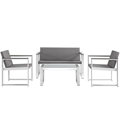 Triumph 4 Piece Deep Seating Group