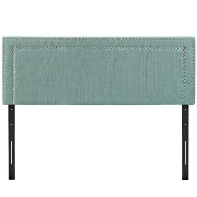 Eyre Upholstered Wood Panel Headboard Size: King, Upholstery: Laguna