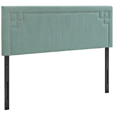 Kerley Upholstered Panel Headboard Size: King, Upholstery: Laguna