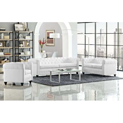 Earl 3 Piece Living Room Set