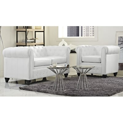 Earl 2 Piece Living Room Set
