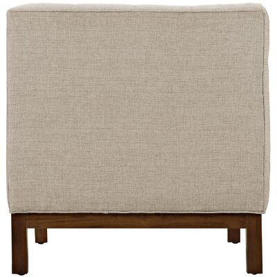 Panache 3 Piece Living Room Set Upholstery: Beige