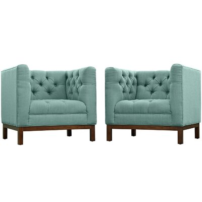 Panache Living Room Set Upholstery: Laguna
